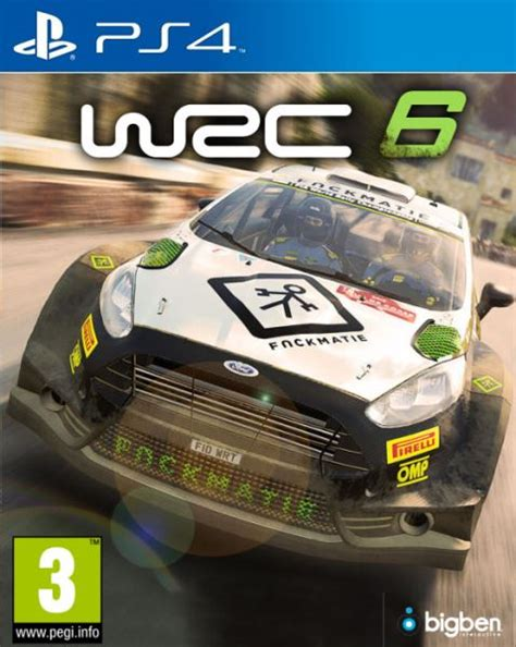 wrc 6 ps4 wrc 6 ps4 ps4 hry hry na playstation 4
