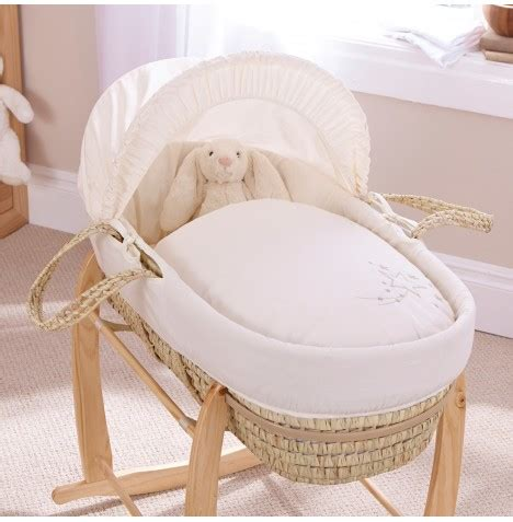 moses basket mattress new clair de lune starburst palm baby moses
