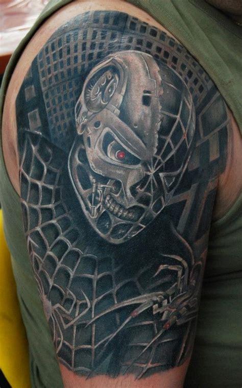spiderman tattoo designs  ideas