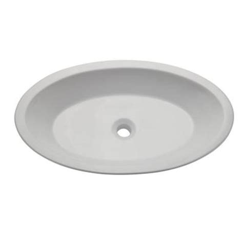 decolav classically redefined vessel sink in white 1463