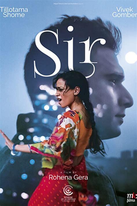 'Sir' at Cinema Akil Dubai 2019, United Arab Emirates