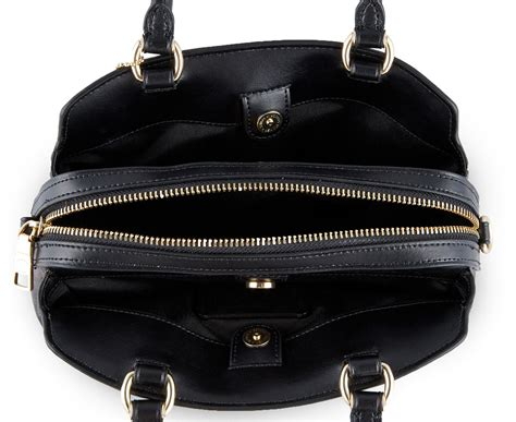 coach signature mini lillie carryall bag brownblack catchcomau