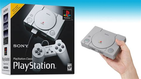 sony announces new playstation classic gaming console geekdad