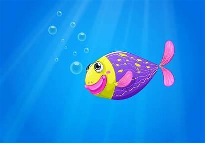 Fish Sea Colorful Under Vector Clipart