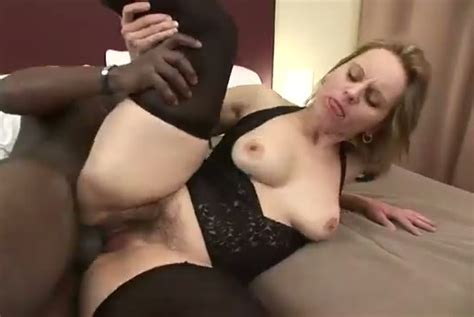 Superb Interracial Sex Scene With Big Assed Hairy Blonde