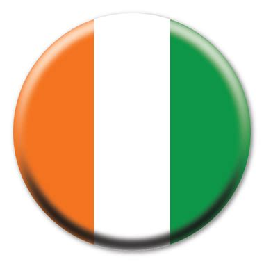 Irish Flag Circle Button | Magnet America