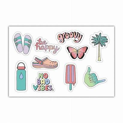 Stickers Aesthetic Sticker Bottle Water Pack Phone