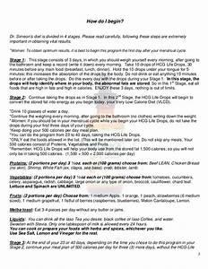 Iaso Hcg Diet Life Drops Program Guide And Faq