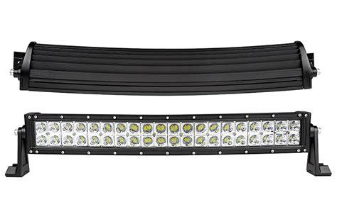 48 led offroad light bar 20 quot curved off road led light bar 120w 9 600 lumens