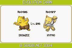 Pokemon Drowzee Evolve Images | Pokemon Images