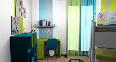 chambre enfant turquoise d 233 coration et optimisation d une chambre d enfants 224