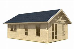 Gartenhaus 3 X 3 M : gartenhaus skanholz toronto 45mm wochenendhaus holzhaus in 3 gr en vom garten fachh ndler ~ Whattoseeinmadrid.com Haus und Dekorationen