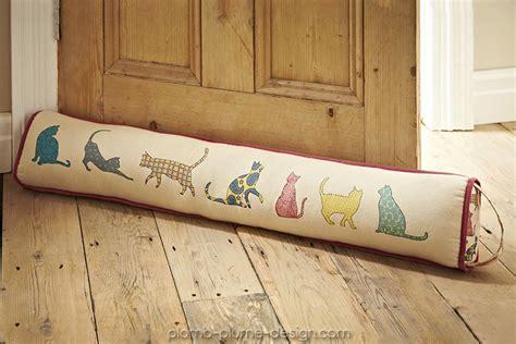boudin de porte dessin de chats aux couleurs pastel