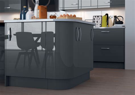 anthracite gloss kitchen replacement doors kitchen warehouse