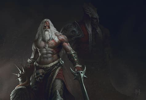 beard man  sword warrior hd artist  wallpapers