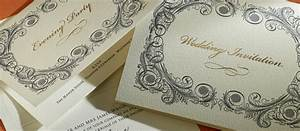 baroque personalised wedding invitations the letter press With luxury wedding invitations northern ireland