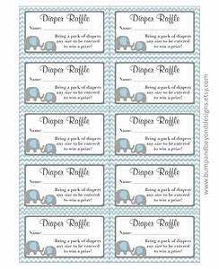 Free Diaper Raffle Template Free Printable Diaper Raffle Ticket Template Baby Shower