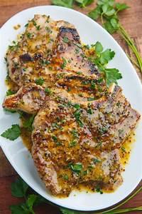 Honey Mustard Grilled Pork Chops Recipe on Closet Cooking