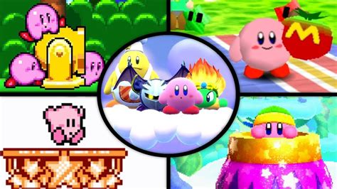 Evolution Of Goal Games In Kirby Games (1993