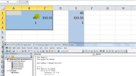 100 vba thisworkbook worksheets range dataprose org range object excel vba get range