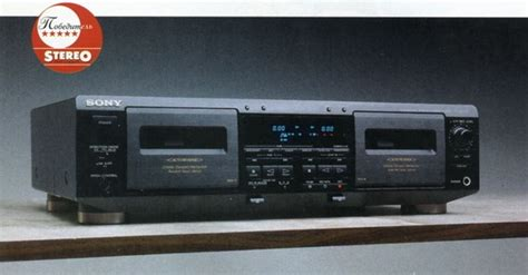 Cassette Deck Sony Tcwe705 Review And Test