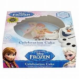 Disney Frozen Celebration Maderia Cake - Groceries - Tesco