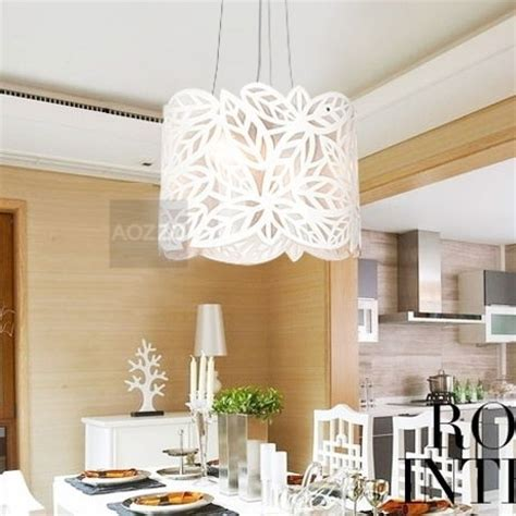 kitchen drum pendant light jollyhome carving drum acrylic pendant lights for kitchen 4738