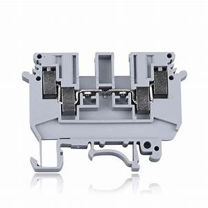 10pcs Ludk4 Double Inlet And Outlet Terminal Udk4 Guide