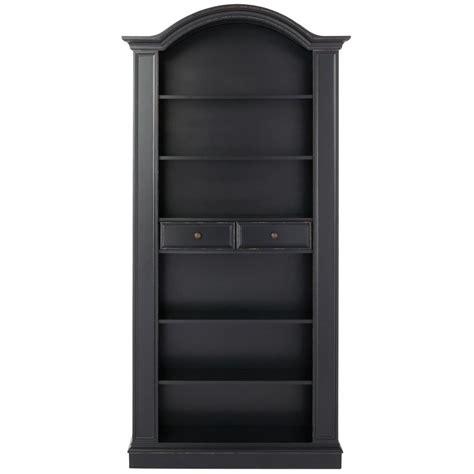Kitchen Cabinet Organization Ideas - home decorators collection christina antique black storage open bookcase 9709400200 the home depot