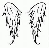 Wings Angel Coloring Drawing Cross Wing Easy Pages Draw Step Drawings Simple Crosses Angels Designs Pencil Deviantart Clipartmag Clipart Hearts sketch template