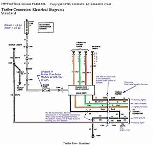 Ford F250 Wiring Diagram For Trailer Light
