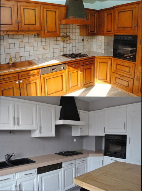 repeindre meuble cuisine en bois cuisine bois quelle peinture pour repeindre meuble