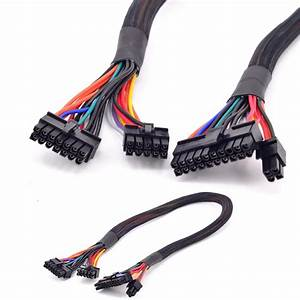 14pin  10pin To 24pin Atx Power Supply Cable 20 4pin With