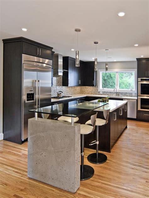 kitchen island contemporary sleek contemporary kitchen gardens countertops and
