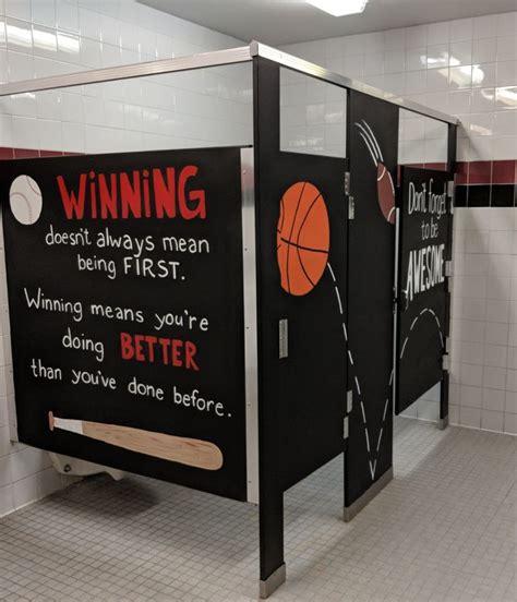 inspiration stalls boys school bathroom stall art