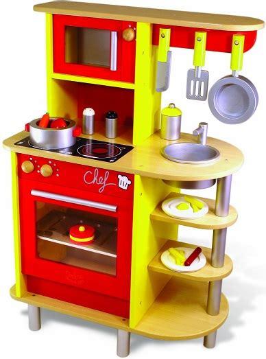 jeu d imitation cuisine grande cuisine en bois vilac jouet cuisine du chef cuisine enfant 20 accessoires