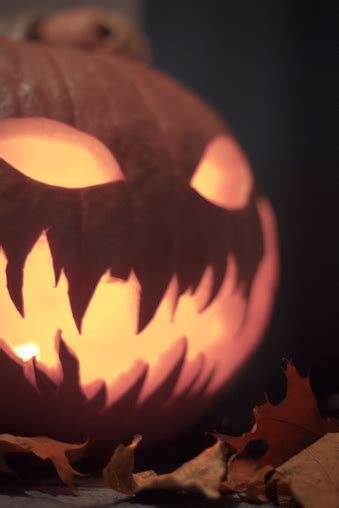 scary jack  lantern pictures   images