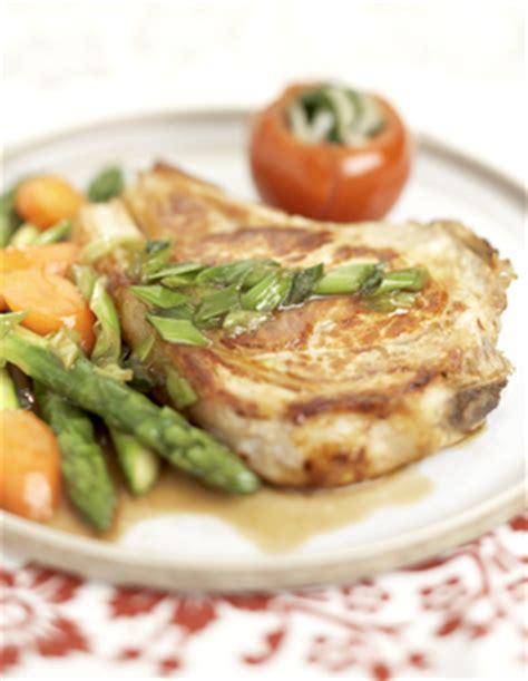 cote cuisine fr3 recette côte de veau asperges carottes tomates pour 4 personnes