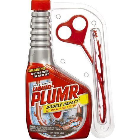 Liquid Plumr 18 oz. Double Impact Drain Opener 4460030708