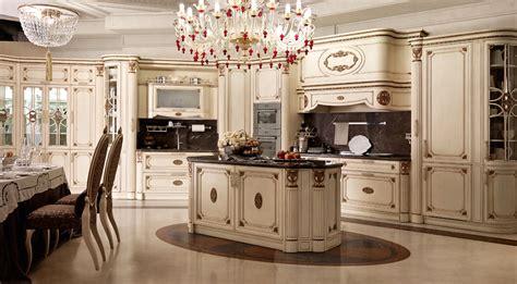 cuisine luxe italienne cuisine italienne classique de luxe avec îlot central