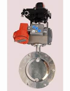 Manual Stainless Steel Butterfly Valves  Rs 2000   Piece