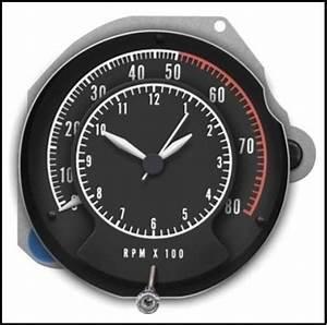 U0026quot Tic Toc Tach U0026quot  Tachometer  Clock For 1968