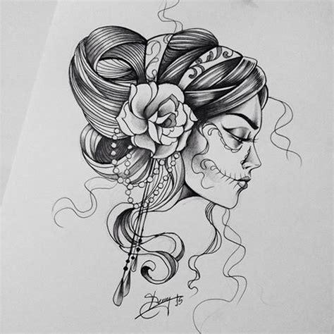best 25 mexicana ideas on tattoos de catrinas tatuagem dia dos mortos and