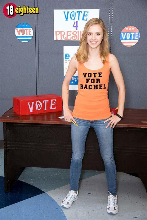 18 Year Old Teen Rachel James Flashes Her Schoolteacher
