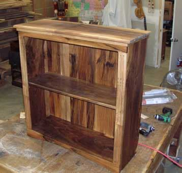 woodwork simple small bookcase plans  plans