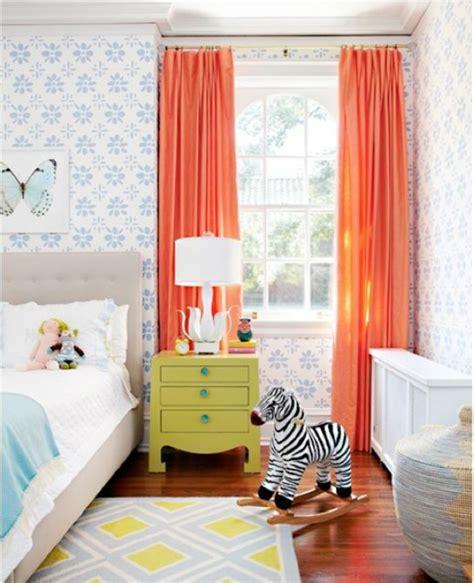 Wandgestaltung Kinderzimmer Orange by 40 Farbideen Kinderzimmer Der Zauber Der Farben