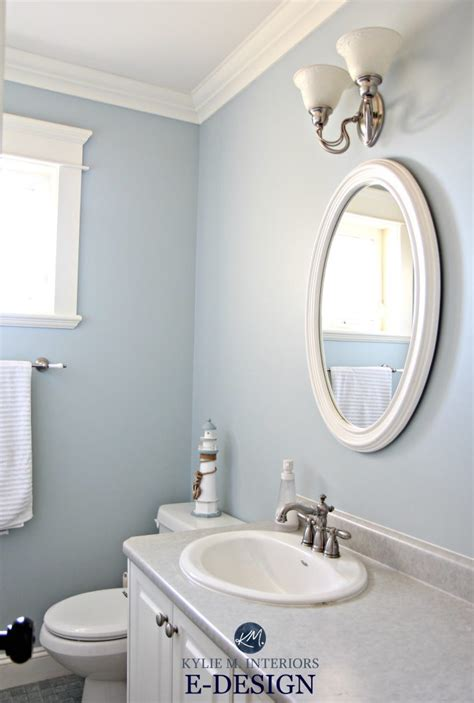 blue paint colour benjamin moore smoke kylie