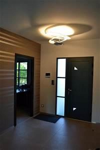 Hall Entrée Maison Moderne : realisations modernes lr constructions ~ Melissatoandfro.com Idées de Décoration