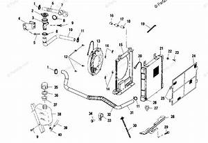 Polaris Atv 2001 Oem Parts Diagram For Cooling System A01ch42aa