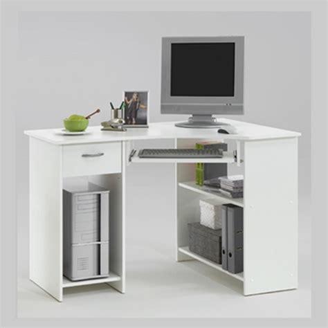 small white computer desk uk felix home office wooden corner computer desk in white